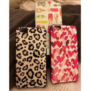 Set of 3 Kate Spade iPhone 6 Plus Cases